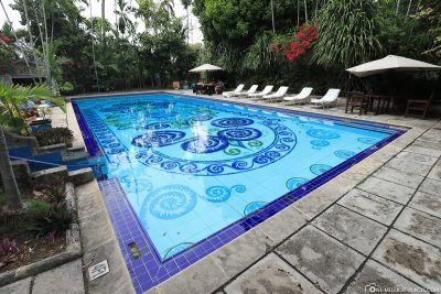 Der Pool des Graycliff Hotels