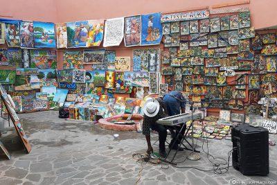 Kunst in den Gassen von Nassau
