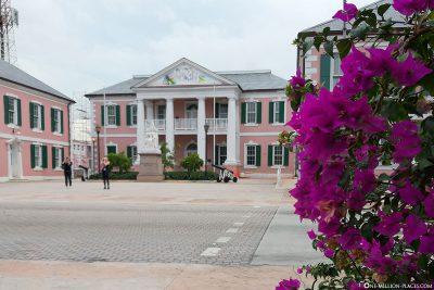 Das Parlamentsgebäude in Nassau