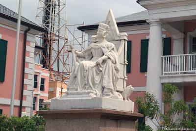 Marmorstatue der Königin Victoria
