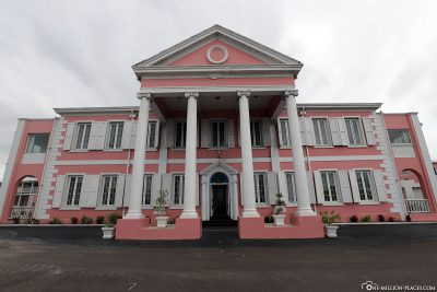 The government building in Nassau