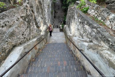 Die Queen's Staircase