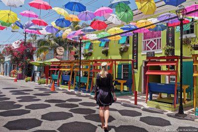 The Umbrella Lane in Nassau