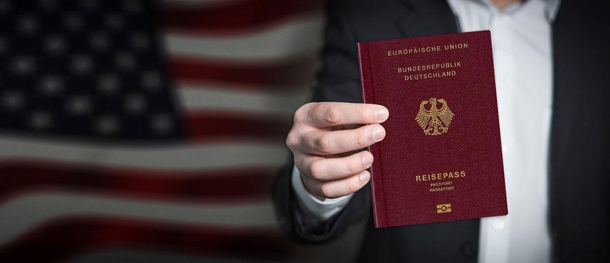 ESTA Antrag USA Reisepass, Reisebericht, Deutscher Reisepass