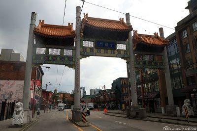 Vancouver Chinatown Millennium Gate