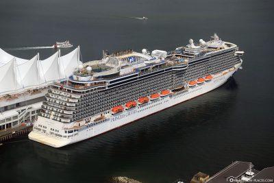The cruise ship Royal Princess