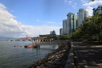 Seawall Water Walk