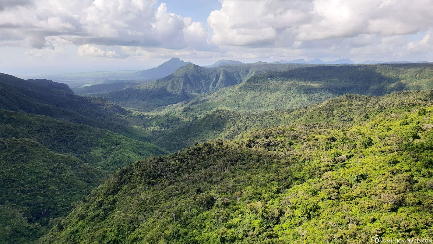 Panorama, View Point, Black River Gorges Nationalpark, Mauritius, Reisebericht