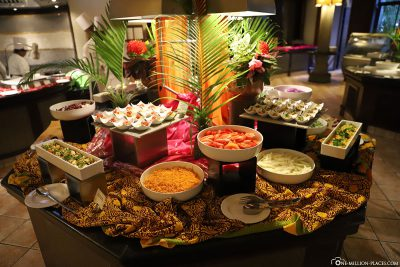 Abendessen im Hotel