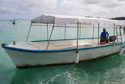 Das Glasbodenboot