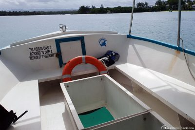 Das Boot mit dem Glasboden