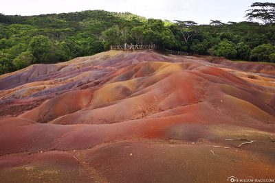 The Colorful Hills of the Seven-Colored Earth