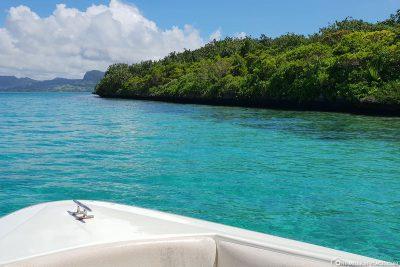 Die kleine geschützte Insel Ile aux Aigrettes