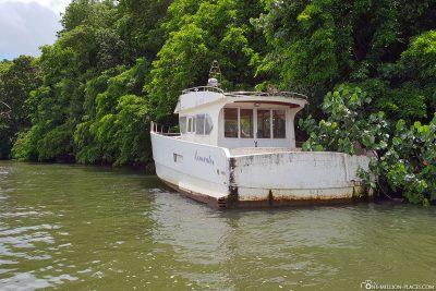 Ein altes Boot