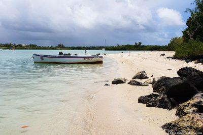 Der Süden der Insel Ile aux Cerfs