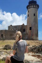 Auf der Insel Ile Aux Fouquets
