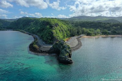 Der Aussichtspunkt Macondé auf Mauritius