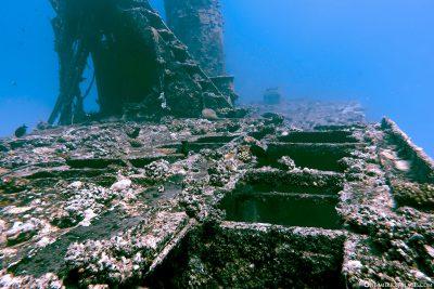 The wreck of Stella Maru