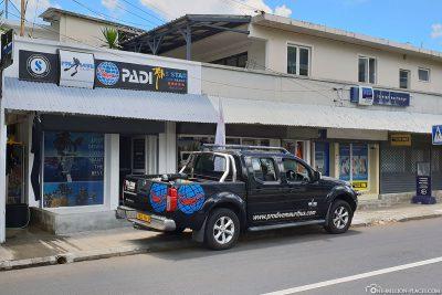 Pro Dive Tauchcenter auf Mauritius