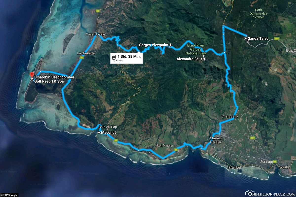Rundreise. Mietwagen, Mauritius, Süden, Back River Gorges, Grand Bassin, Reisebericht