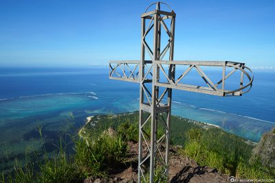 The summit cross of Le Morne