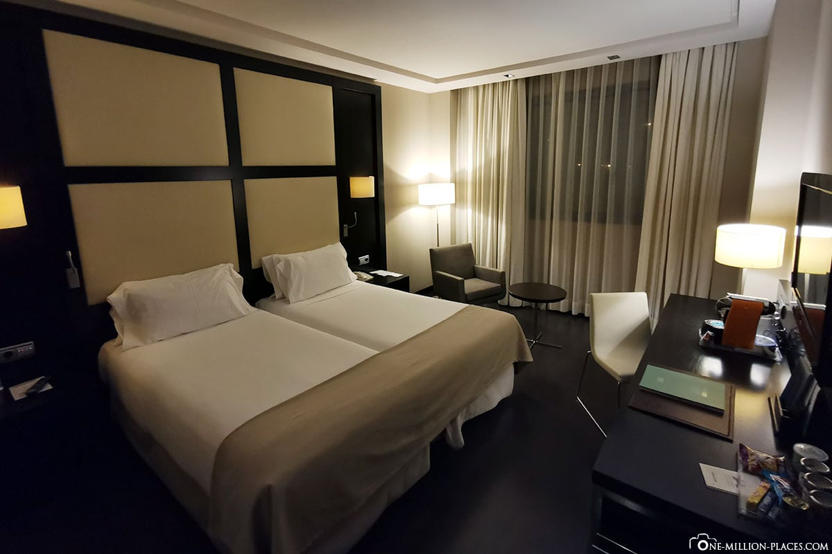 Doppelzimmer, Hotel Maydrit, Madrid, Spanien, Reisebericht, Erfahrungen