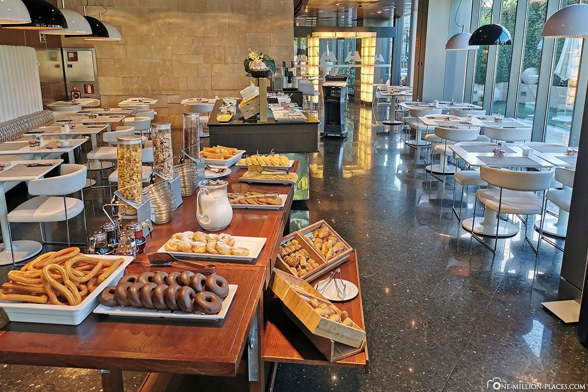 Frühstück, Hotel Maydrit, Madrid, Spanien, Reisebericht, Erfahrungen