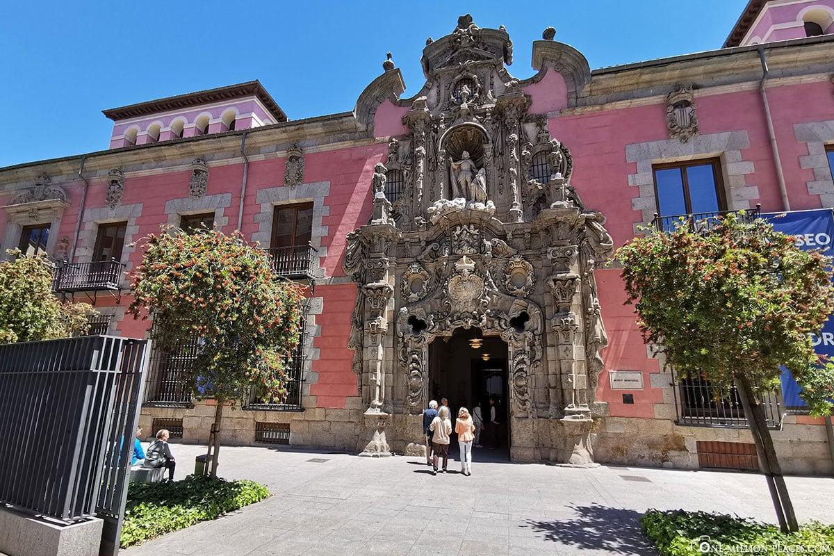 Geschichtsmuseum Madrid, Innenstadt, Spanien, Sehenswürdigkeiten, Fotospots, Reisebericht