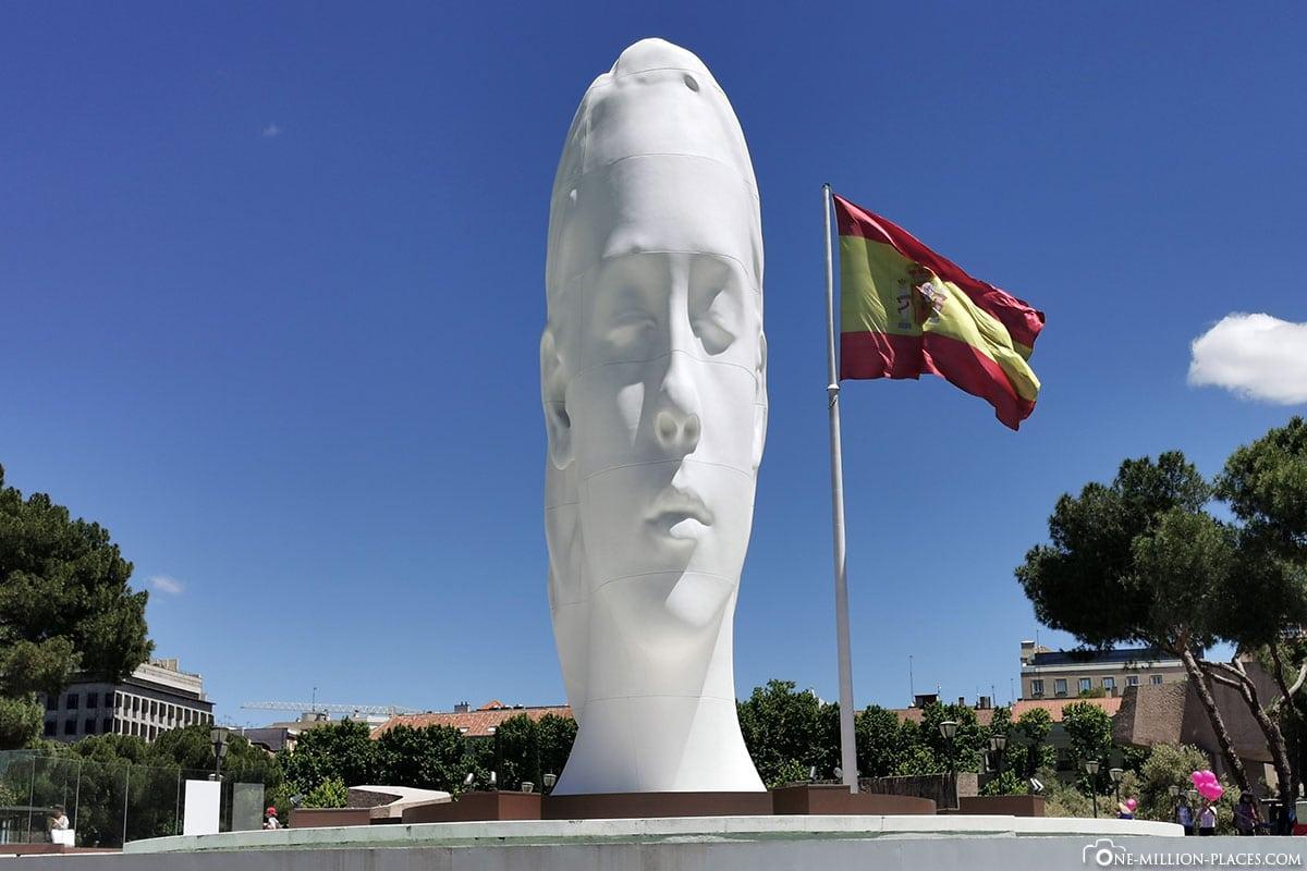 Plaza de Colón, Madrid, Innenstadt, Spanien, Sehenswürdigkeiten, Fotospots, Reisebericht