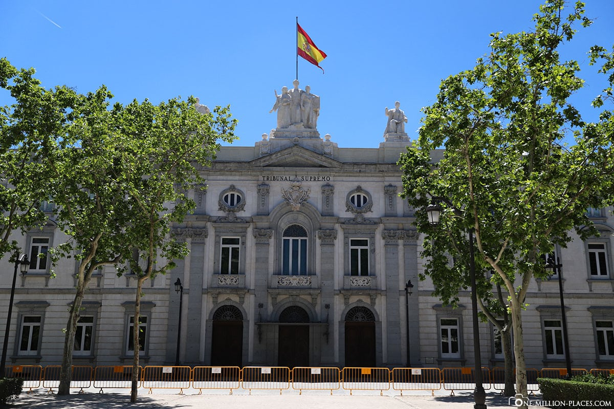 Justizpalast, Madrid, Innenstadt, Spanien, Sehenswürdigkeiten, Fotospots, Reisebericht