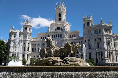 Fuente de Cibeles Fountain