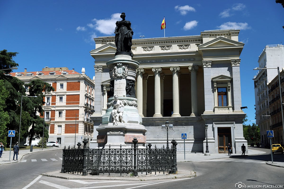 El Casón del Buen Retiro, Madrid, Innenstadt, Spanien, Sehenswürdigkeiten, Fotospots, Reisebericht