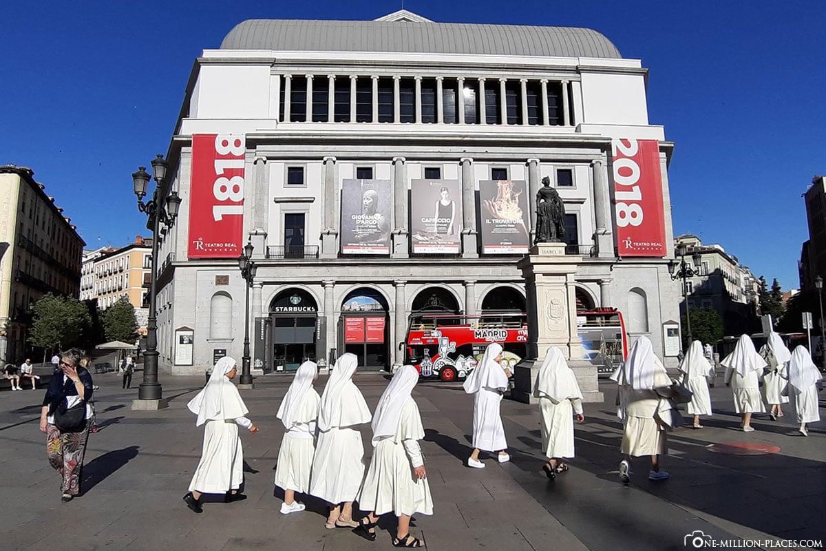 Oper, Madrid, Innenstadt, Spanien, Sehenswürdigkeiten, Fotospots, Reisebericht