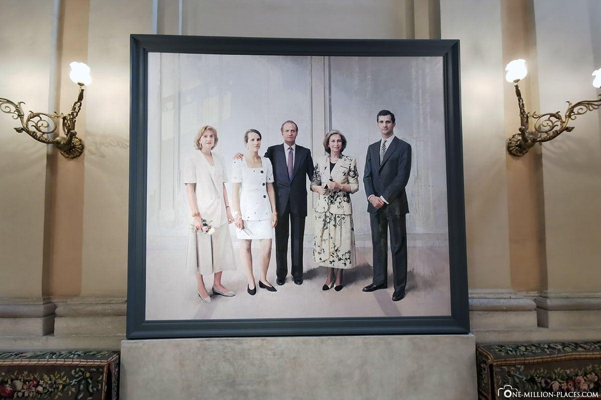 Porträt der königlichen Familie, Königliche Palast, Madrid, Sehenswürdigkeiten, Stadtrundgang, Reisebericht