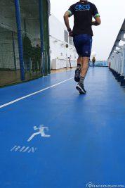 Der Jogging Track