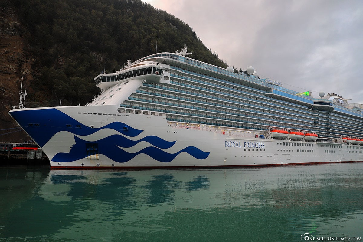 Royal Princess, Cruise Ship, Princess Cruises, Alaska, TravelReport, Experience