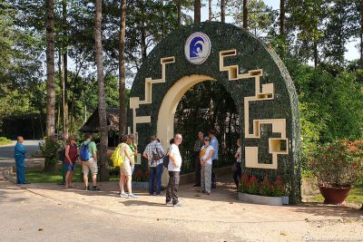 Eingang zu den Tunnel von Cu Chi