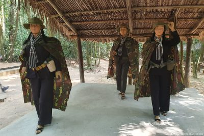 Die Kleidung der  Vietcong