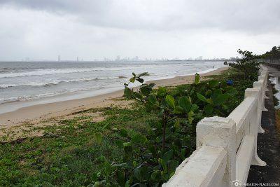 Blick auf die Da Nang Bay