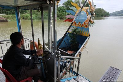 Fahrt mit dem Drachenboot