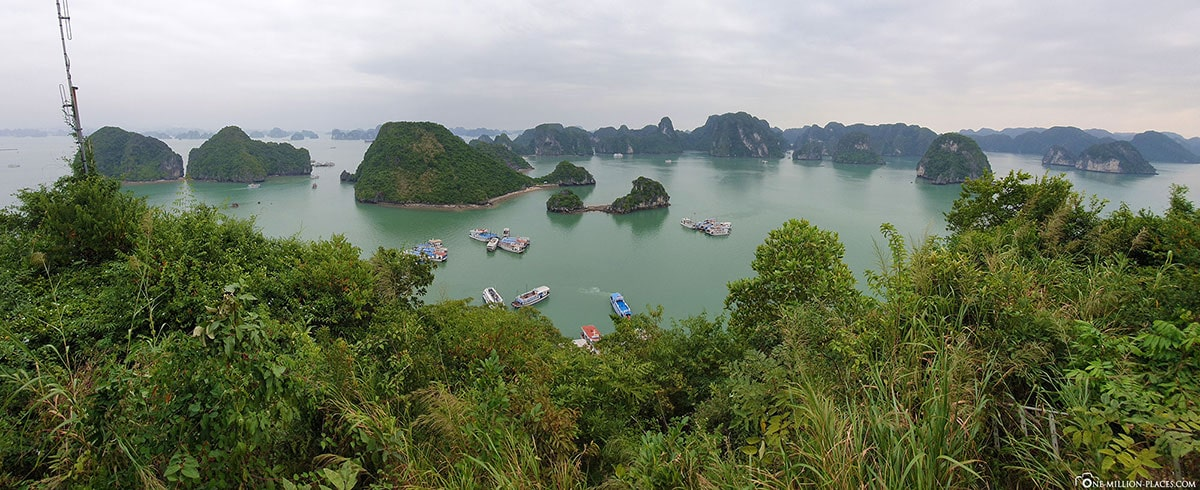 View, Hang Sung Sot Cave, Halong Bay, Stalactite Cave, Day Trip from Hanoi, Vietnam, Travelreport, Gebeco