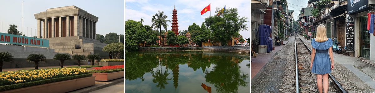 Hanoi Sehenswürdigkeiten Headerbild