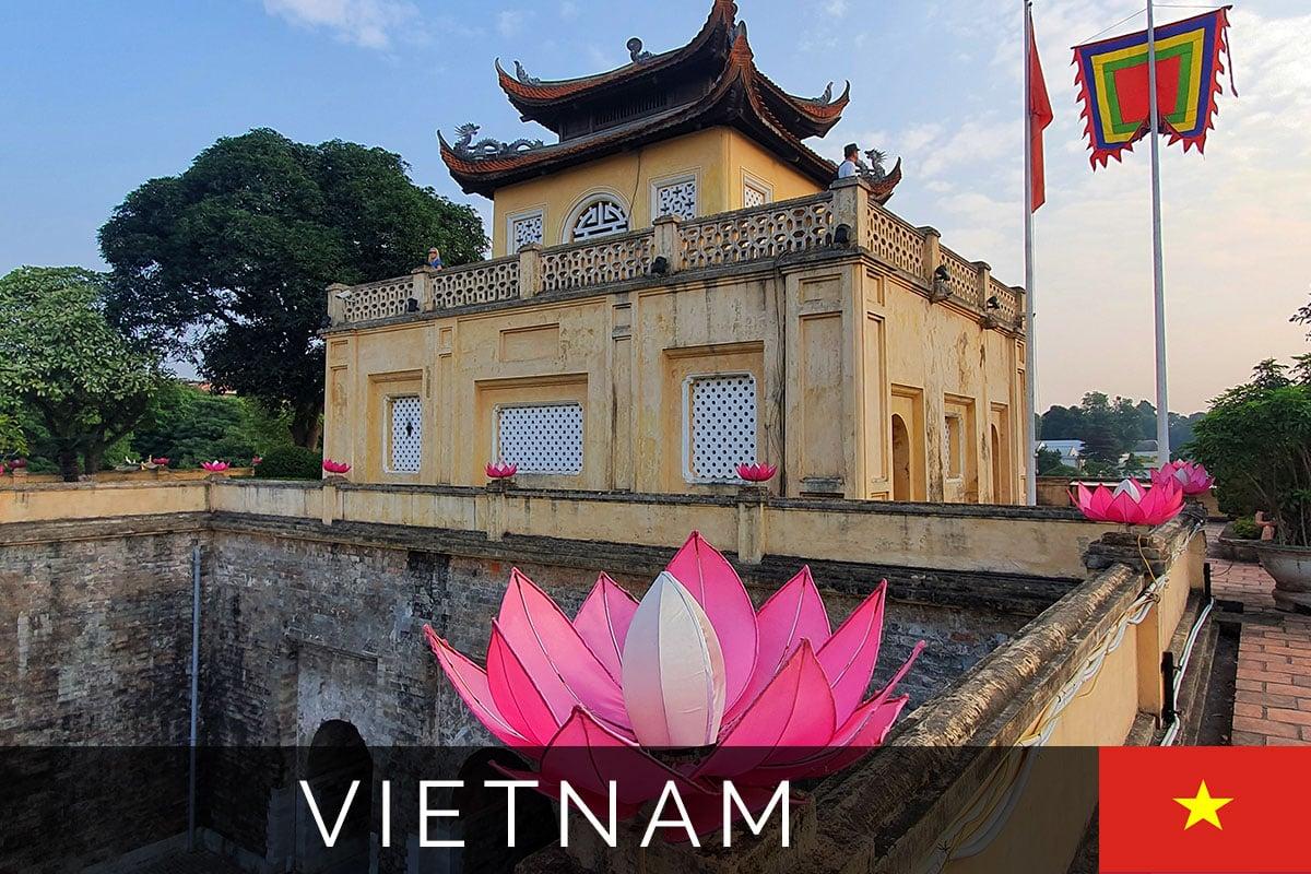 Hanoi Sehenswürdigkeiten Titelbild