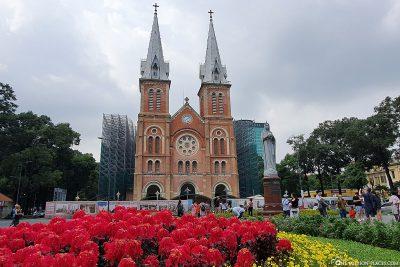Die Kathedrale Notre Dame von Saigon