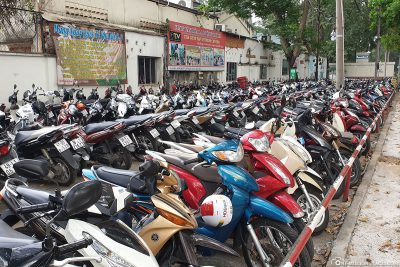 The many scooters