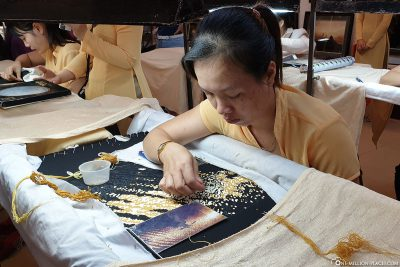 Production of embroidery images
