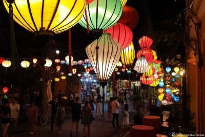 The Lampion gassen in Hoi An