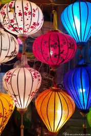 Lampions at the night market
