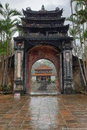 Blick auf den Minh Lau Pavilion