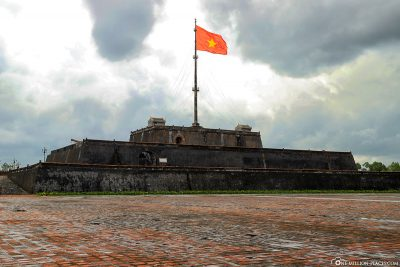 The flag tower of the Citadel